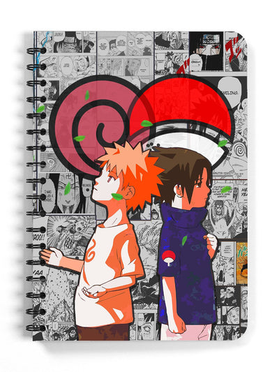 Rivals Spiral Sketchbook (Blank Pages) Anime Notebooks by ComicSense