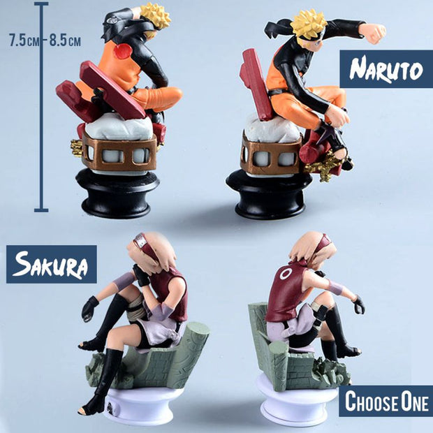 Anime Naruto | Sasuke | Kakashi | Gaara | Shikamaru | Sakura Action Figure (Choose One) - ComicSense