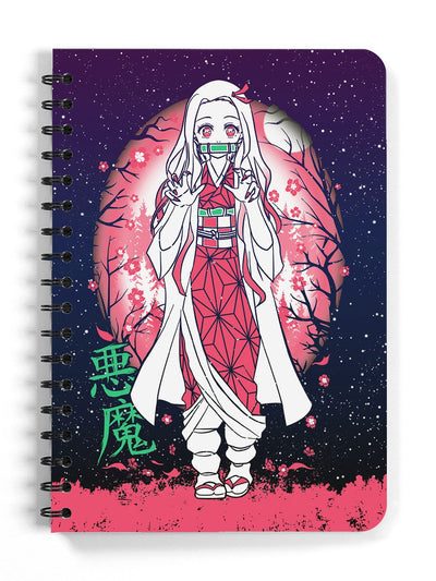 Anime Small Demon Notebook - ComicSense