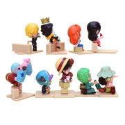 Anime One Piece Luffy's Straw Hat Pirates Crew Chibi Tiny Figures (Choose One) - ComicSense