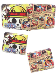 Anime Luffy Crew Wanter Poster Wallet - ComicSense