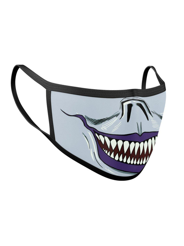 Shinigami Ryuk Smile Face Mask Anime Face Masks by ComicSense