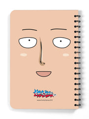 Anime One Punch King Spiral Notebook - ComicSense