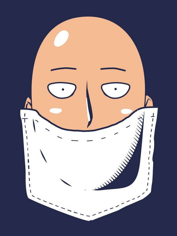 Anime Hero in my Pocket [+Saitama OK Face Mask] - ComicSense