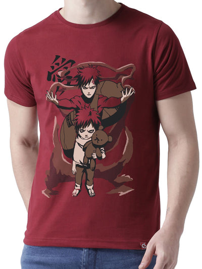 Sand Coffin Anime Half Sleeve T-Shirts by ComicSense