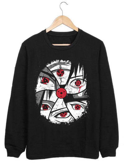 Anime Eye of the Sharingans (Sweatshirt) - ComicSense