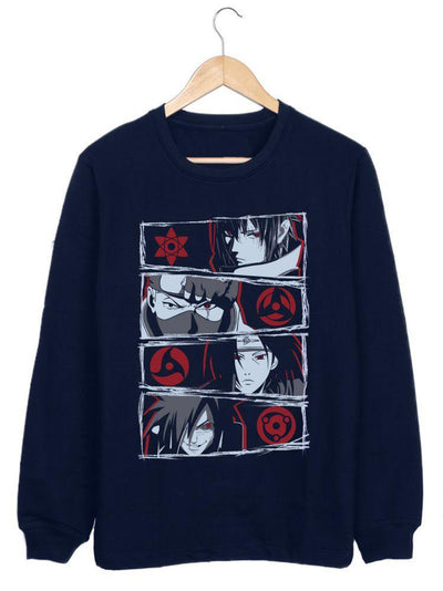 Sharingan Users (Sweatshirt) Anime Hoodies by ComicSense