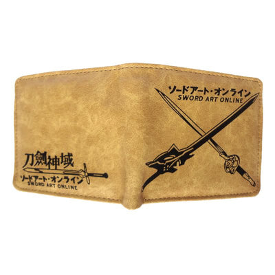 Anime Sword Art Online Wallet (Brown) - ComicSense