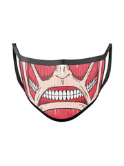 Anime Titan Face Mask - ComicSense