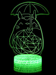 Anime My Neighbour Totoro Led Night Lamp (Multi Color) - ComicSense