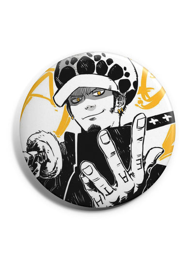 Anime Trafalgar Law Badge - ComicSense