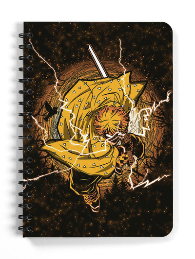 Thunderclap Flash Notebook Anime Notebooks by ComicSense