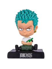 Anime Zoro Bobble Head (Mobile Holder) - ComicSense