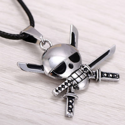 Anime Roronoa Zoro Logo Necklace - ComicSense