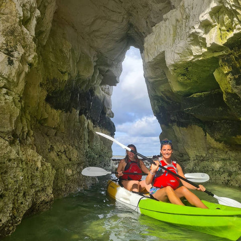 Old Harry Rocks Kayak BBQ Experience Voucher