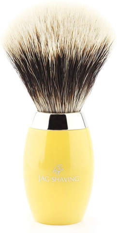 Super Silver Badger Hair Brush with Resin Handle Best in Quality