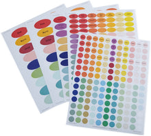 Load image into Gallery viewer, Waterproof Essential Oil Labels Set, 9 Sheets of 864, Blank Printable Stickers for All Bottles and Vials