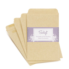 "Load image into Gallery viewer, Self-Sealing, Printable Seed Packet Envelopes - 100 Counts, 3"" x 4.5"""