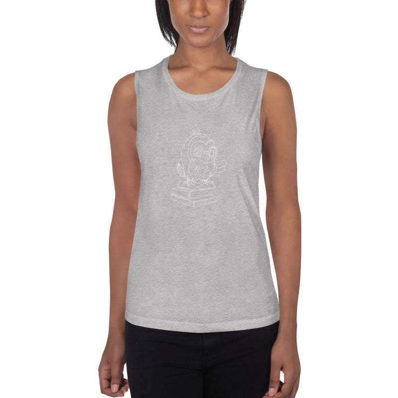 Barred Owl Press ladies' muscle tank