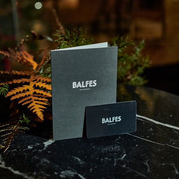 Balfes Brasserie and Bar Gift Card