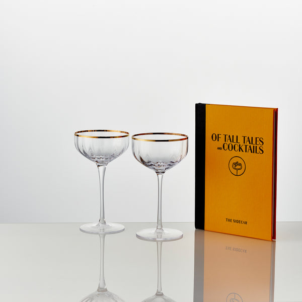 The Sidecar Cocktail Glass Set