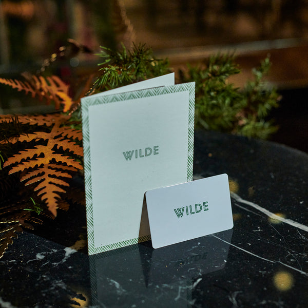 Fine Dining in Wilde Gift Card