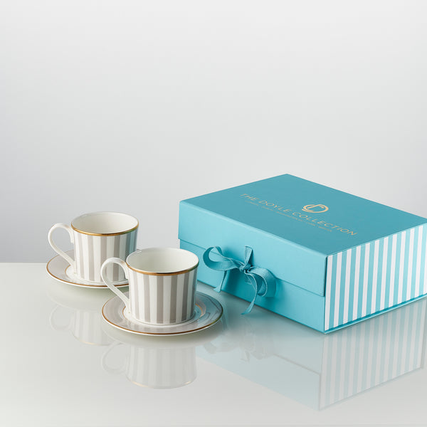 The Signature Tea Cup and Saucer Set