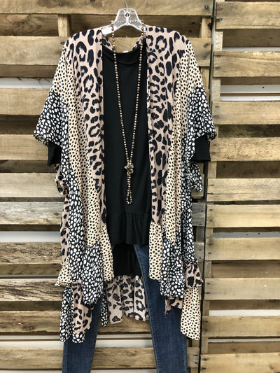 Autumn 2020 Fashion Leopard Print Cardigan