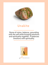 Load image into Gallery viewer, Unakite Necklace