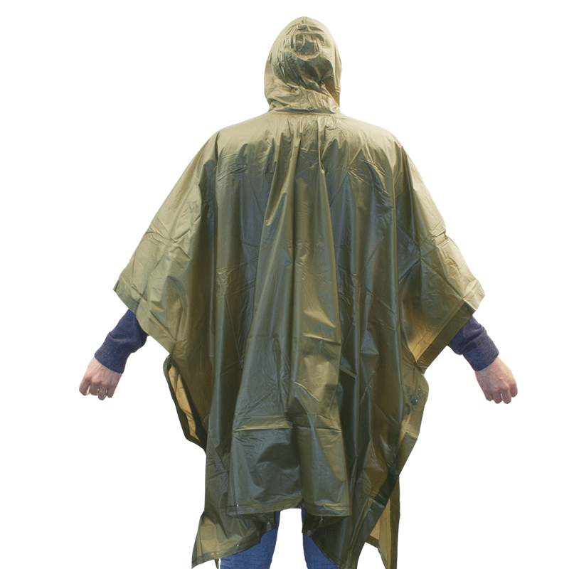 Highlander Poncho PVC esőkabát Forest Outdoor Highlander