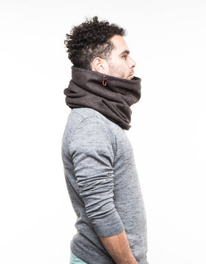 Gift for him, thick wool cowl scarf, mens scarf, gift for men, Snock®