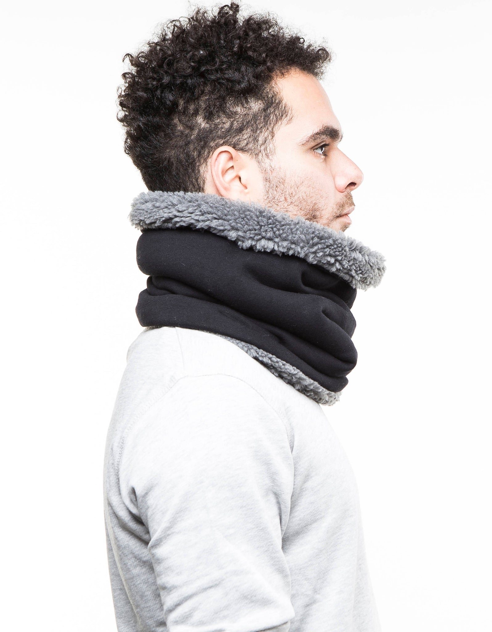 mens scarf, gift idea for men,  Snock®, cowl scarf mens cotton scarf mens accessories