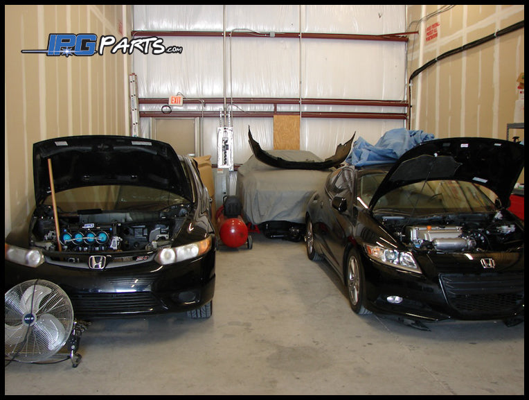 CR-Z and 2006 Civic Si