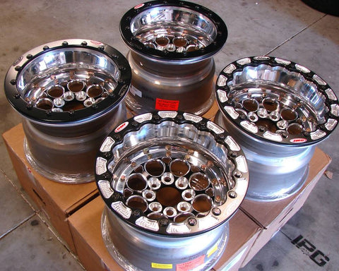 Weld Racing Drag Wheels with OMF Performance Outer Beadlock