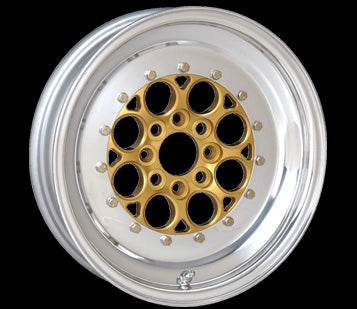 "Weld Magnum Import Drag Wheels, 15x3.5, 4x100, 1.13"" Backspacing"
