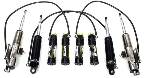 MCS Double Adjustable Remote Reservoir Dampers for the 1996-2001 Acura Integra Type R