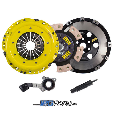ACT Heavy Duty Race 6 Pad Sprung Clutch Kit for 2016-2018 Ford Focus RS