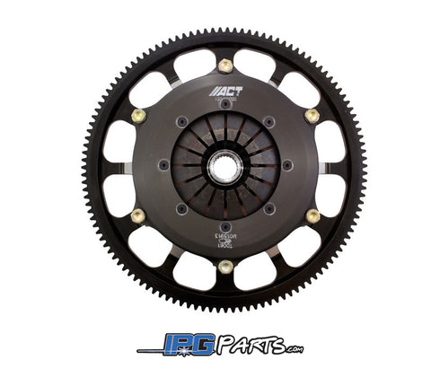 ACT Twin Sintered Iron Race Disc Clutch Kit with Flywheel - 2002-2006 Acura RSX Type S K20A K20A2 K20Z1 Engines