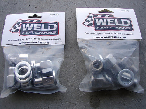 Weld Racing Lug Kit - 12mm x 1.5RH - Open or Closed Ended