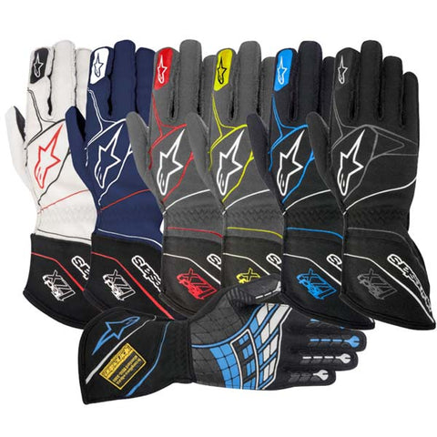 Alpinestars Tech 1-ZX Auto Racing Gloves, SFI - FIA