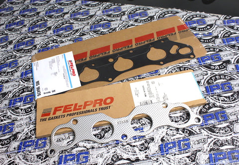 FEL PRO Intake & Exhaust Manifold Gaskets Fits 2006-2011 Honda Civic Si - K20Z3 Engines
