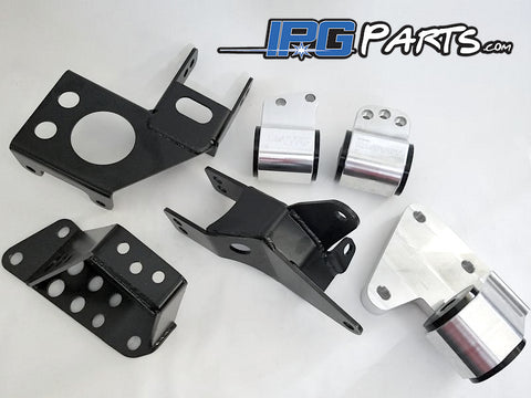 Hasport EGK5 AWD Engine Motor Mounts K20 K24 For Acura Integra DC & Honda Civic EG Chassis