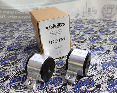 Hasport Performance Billet Torque Mounts for 1992-2000 Honda Civic & 1994-2001 Acura Integra with B Series Engines