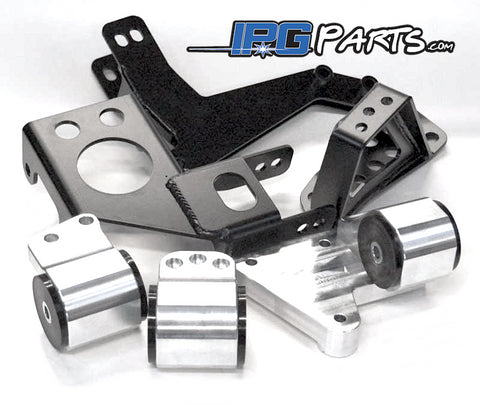 Hasport EGK2 Engine Motor Mounts Fits K20 K24 Acura Integra DC & Honda Civic EG Chassis