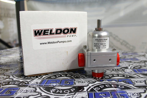 Weldon T2040-120 Teflon Diaphragm Fuel Pressure Regulator (FPR)