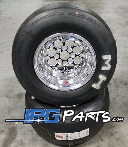 Weld Racing Magnum Import Drag Wheel & Slick Packages