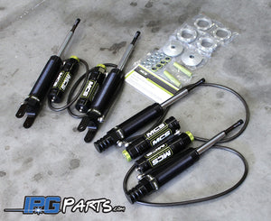 MCS Double Adjustable Remote Reservoir Dampers for the 1994-2001 Acura Integra GSR
