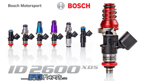 Injector Dynamics ID2600 XDS Fuel Injectors For Honda & Acura B16 B18 B18C D16 D16Z6 H22 Engines