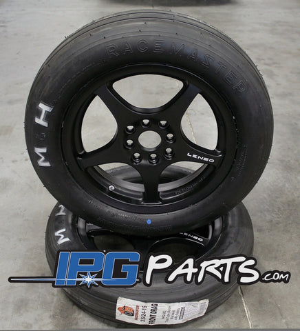 Lenso XPD 15x3.5 Racing Wheels & Tire Package