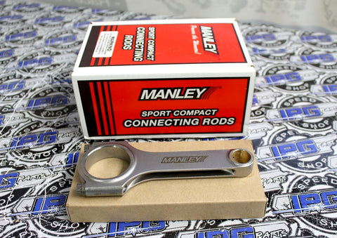 Manley H Beam Steel Connecting Rods for the Honda - Acura K24 K24A K24A2 K24A4 K24A8 Engines